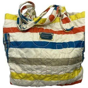marc jacobs bag x large quilted multi color tote